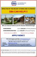 SBA Disaster Loan Information