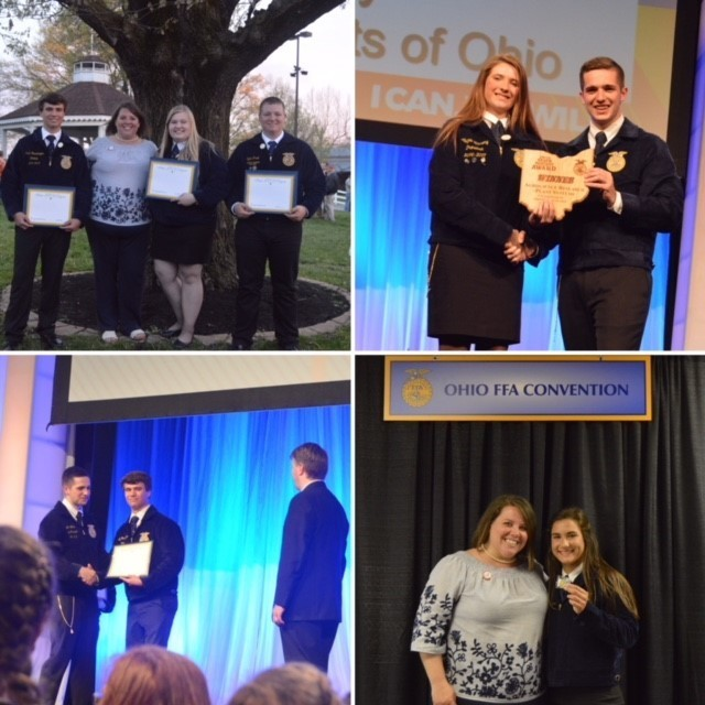 M-U Students at the State FFA Convention