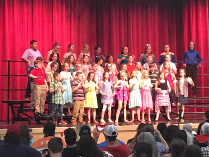 Grades Four and Five Choir Performance