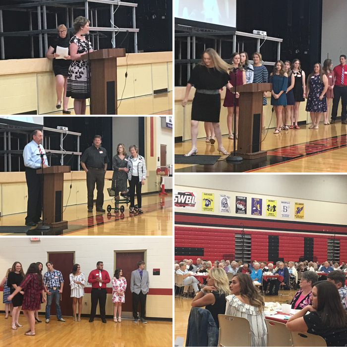 Alumni Banquet 2018 Collage