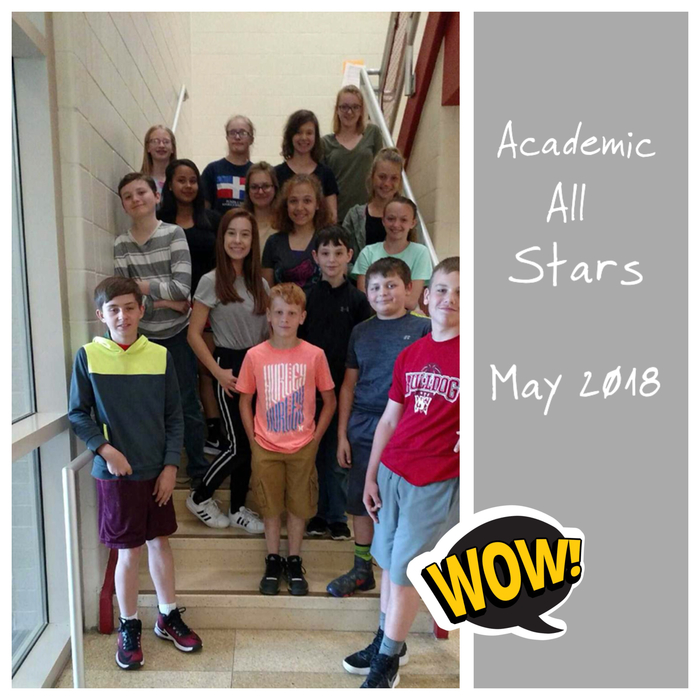 Academic All Stars May 2018