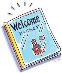 picture of welcome packet