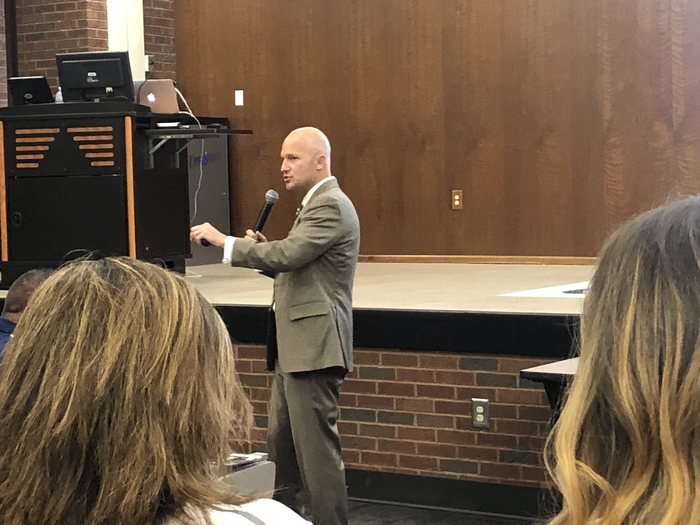 Eric Sheninger at the 2018 Miami County Administrator Kick-off