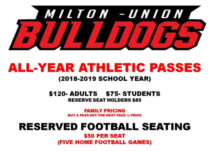 Reserved Football Seating Information 2018