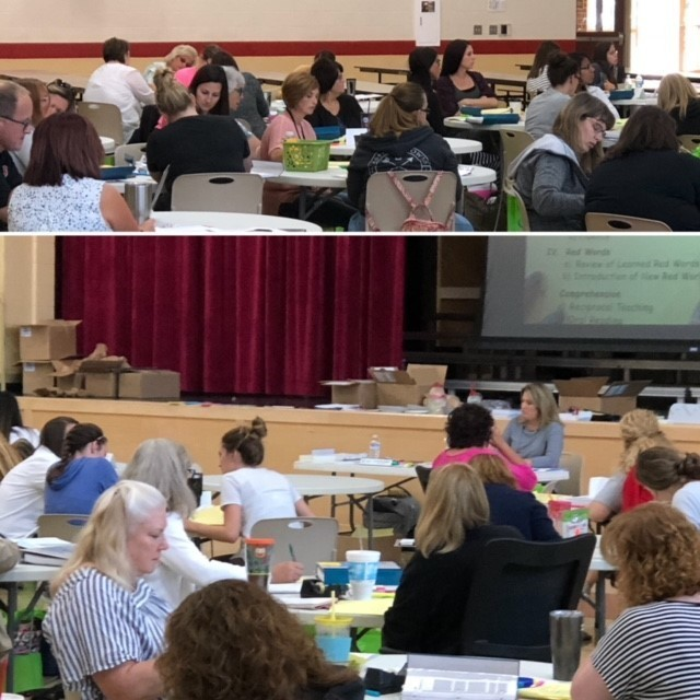 OG Training at M-U Schools Day One 8.13.18