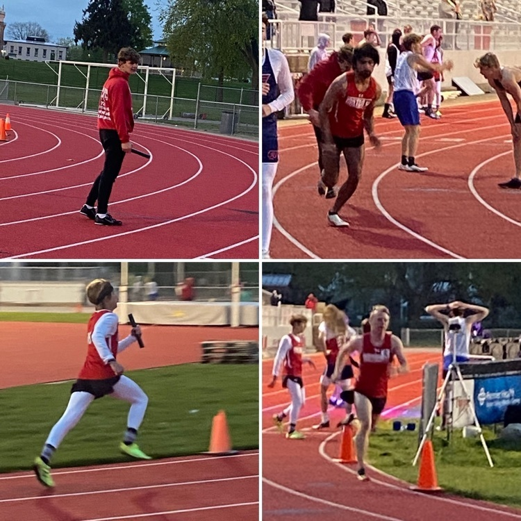 Boys 1600m Relay - Miami County Invitational 4.20.2021