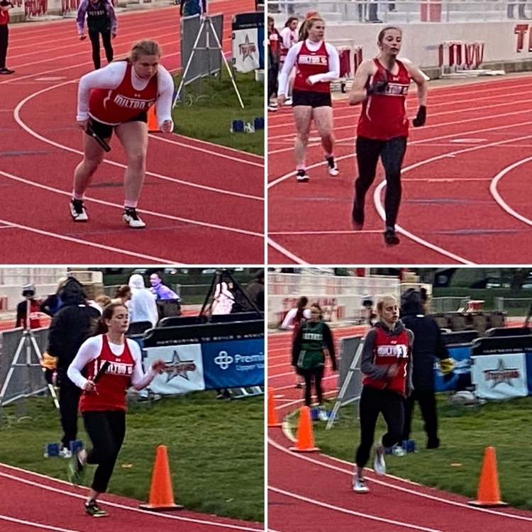 Girls 1600m Relay - Miami County Invitational 4.20.2021