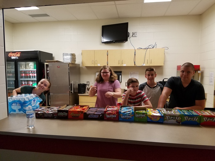 NJHS Student Workers