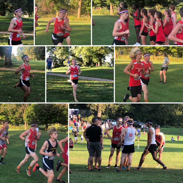 Piqua Cross-country Invitational Boys Student Athlete Collage