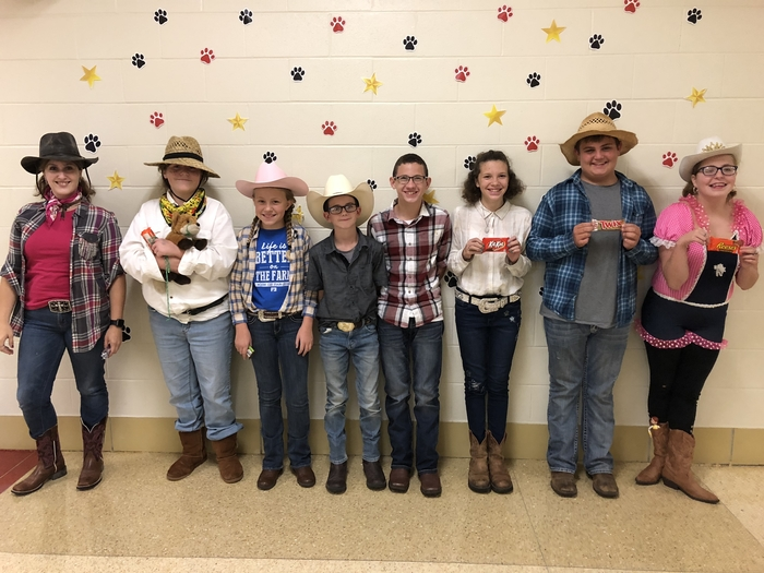 Wild West Wednesday winners 😊