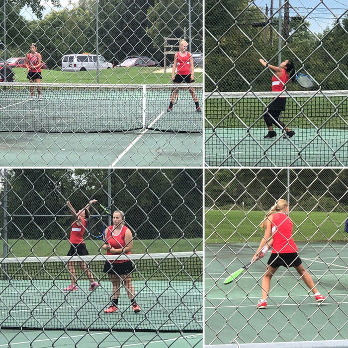 Tennis at the league tournament on 9.26.18.