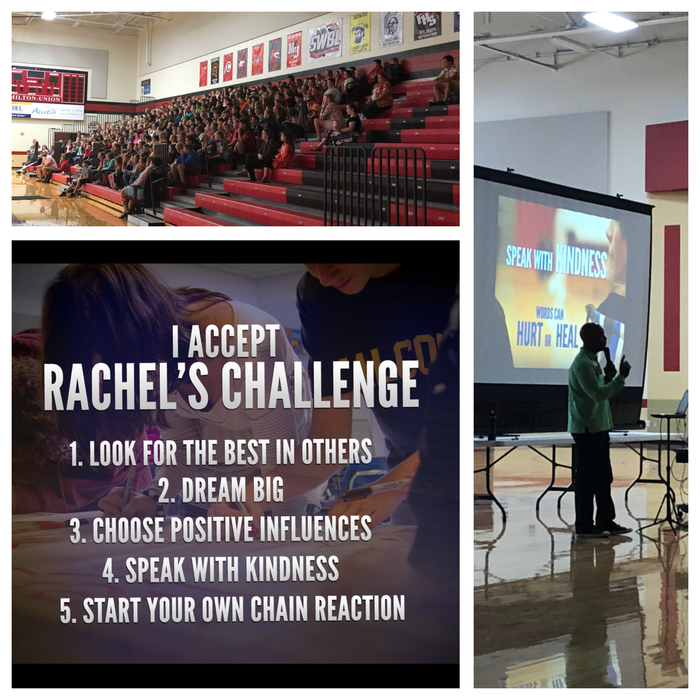 Rachel's Challenge assembly