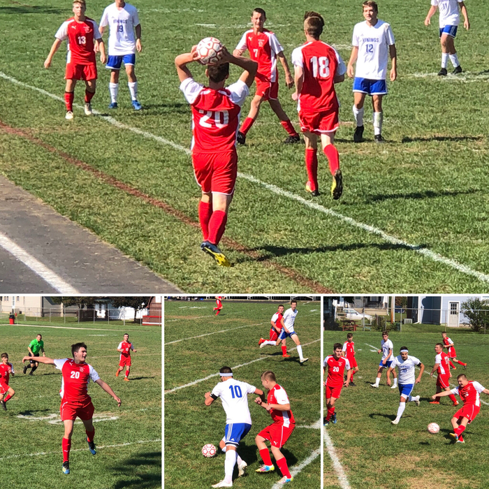 Bulldog Boys Soccer versus Miami East on 9.29.19