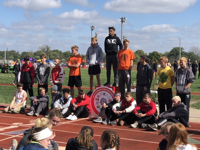 Boys cross-country award winners - 10.13.18