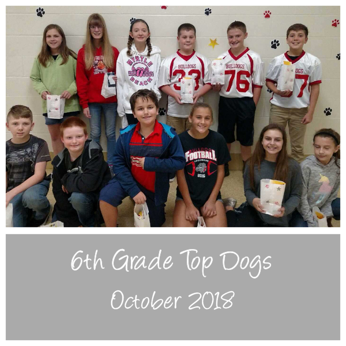 6th Top Dogs October