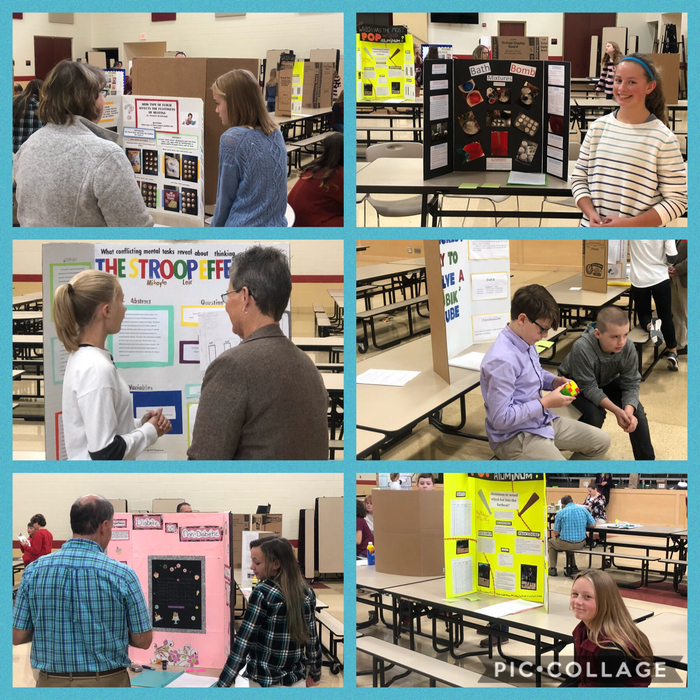 Science Fair projects - Middle School 2018