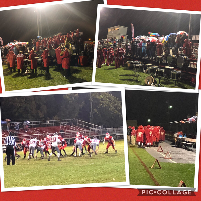 Collage for week nine against Dixie