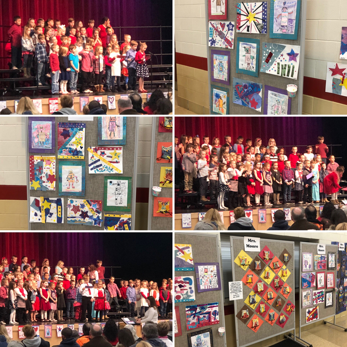 Veteran's Day Program - First Grade 11.13.18