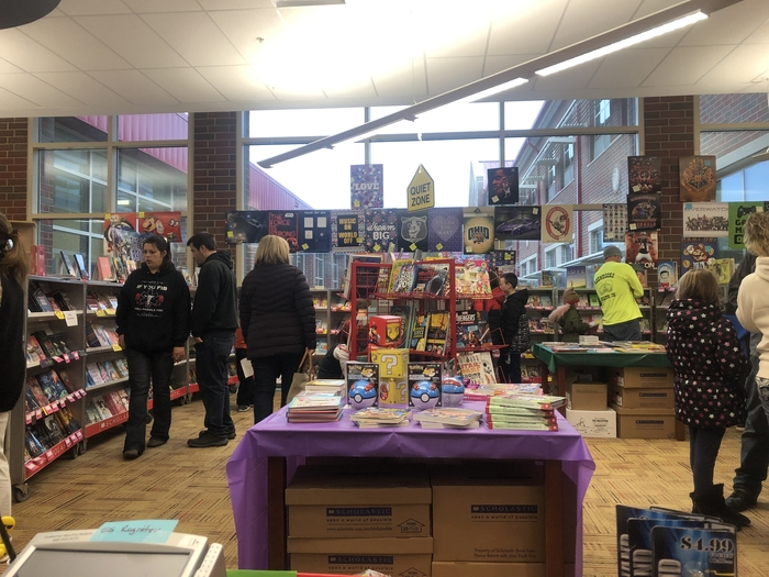 Book Fair in the Media Center on 11.15.18