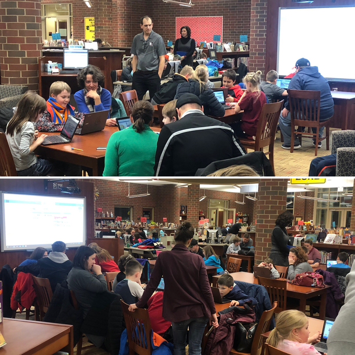 Hour of Code - 12.4.18 Media Center