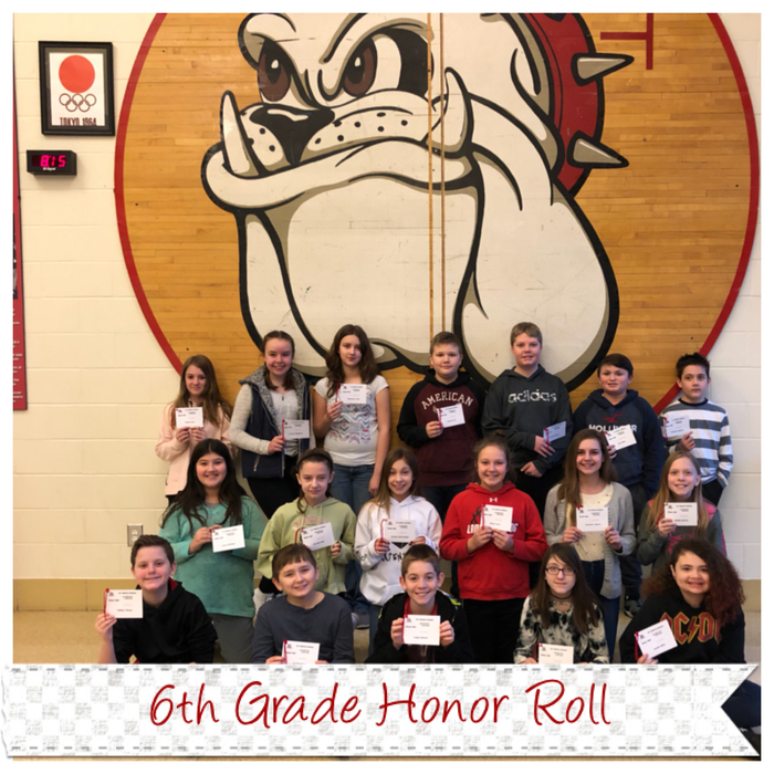6th Honor Roll