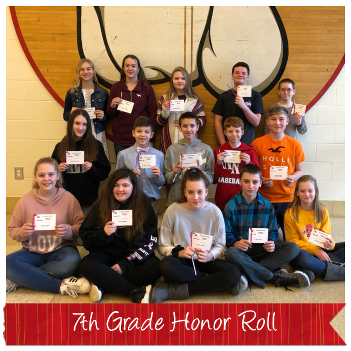 7th Honor Roll