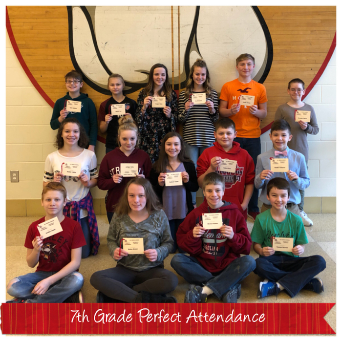 7th Perfect Attendance