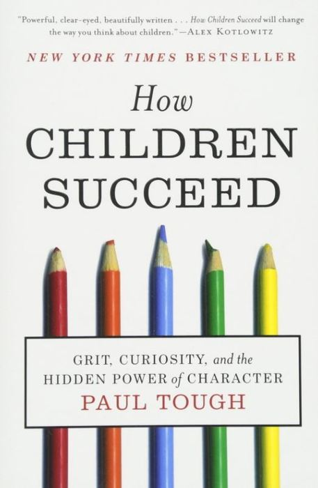 Paul Tough - How Children Succeed Book Cover