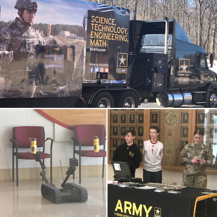 US Army simulator & STEM activities