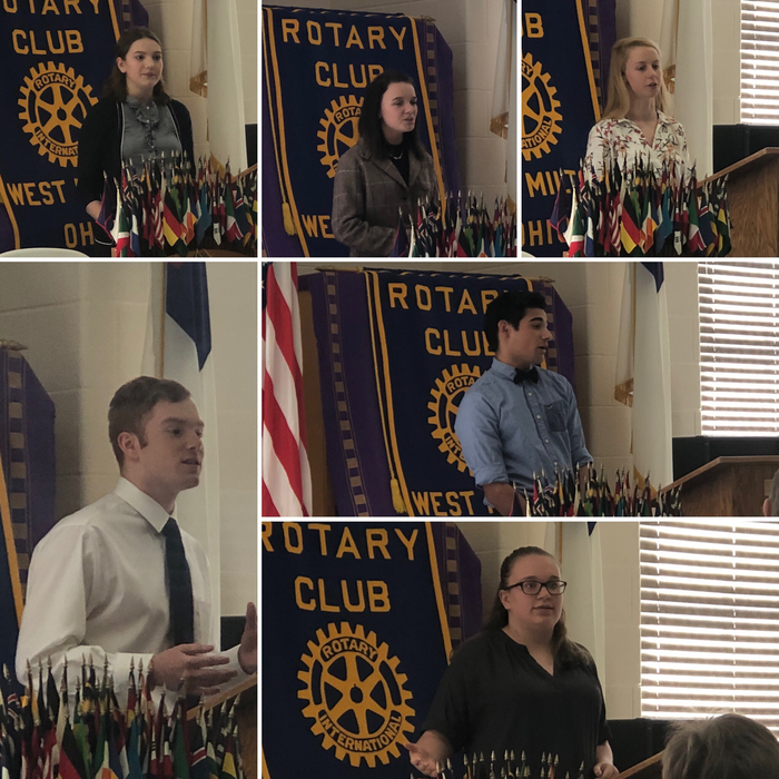 Rotary Club of WM - Speech Competition 3.18.19