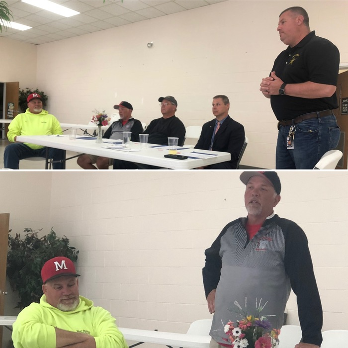 Spring coaches guest speakers at Rotary meeting on 4.22.19