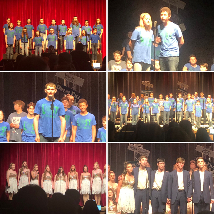 Spring Sing 2019 Collage