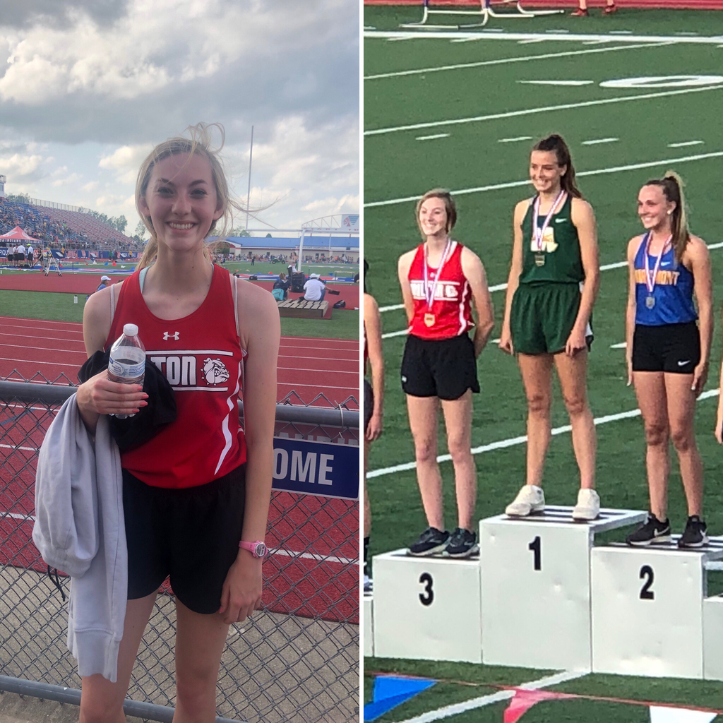 Ally Lyons - State Track & Field Qualifier