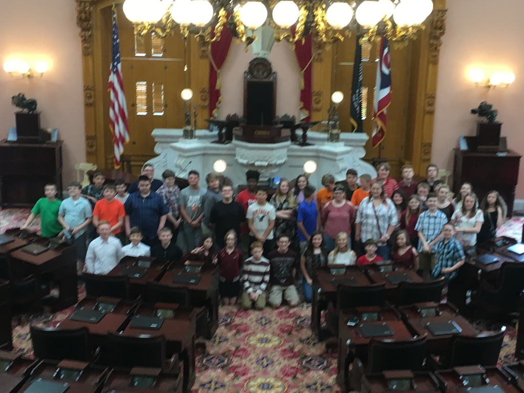More 7th graders in the House Chamber
