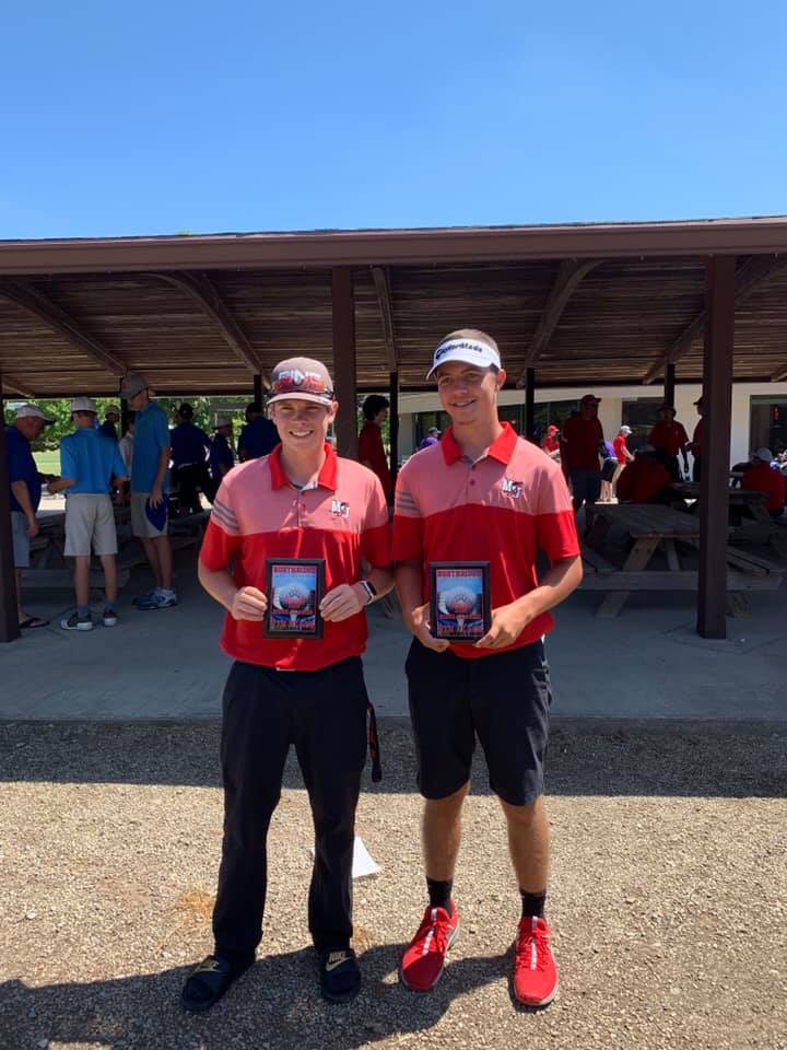 Justin Brown & Nathan Thompson - Varsity Golf 8.9.19