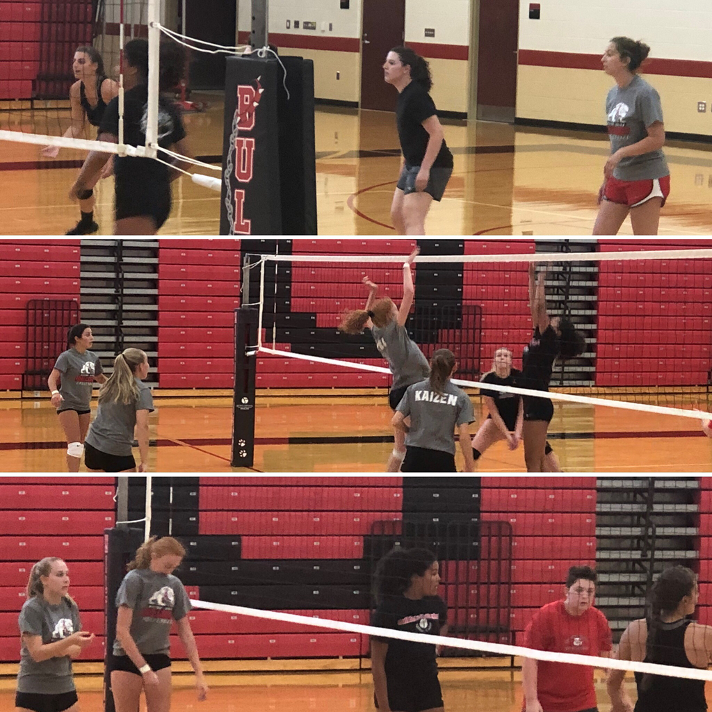 Alumni volleyball game - 8.9.19