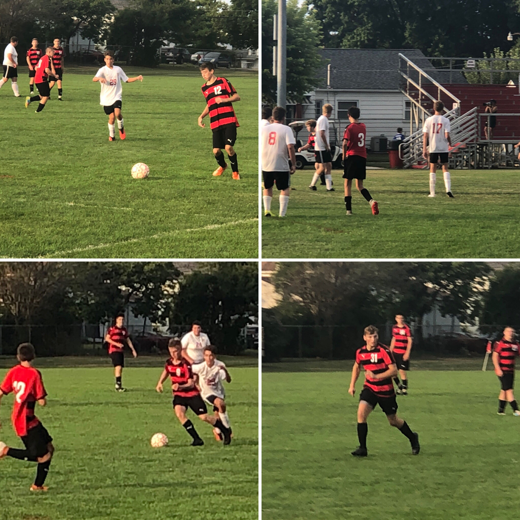 Boys soccer versus Madison - 8.22.19