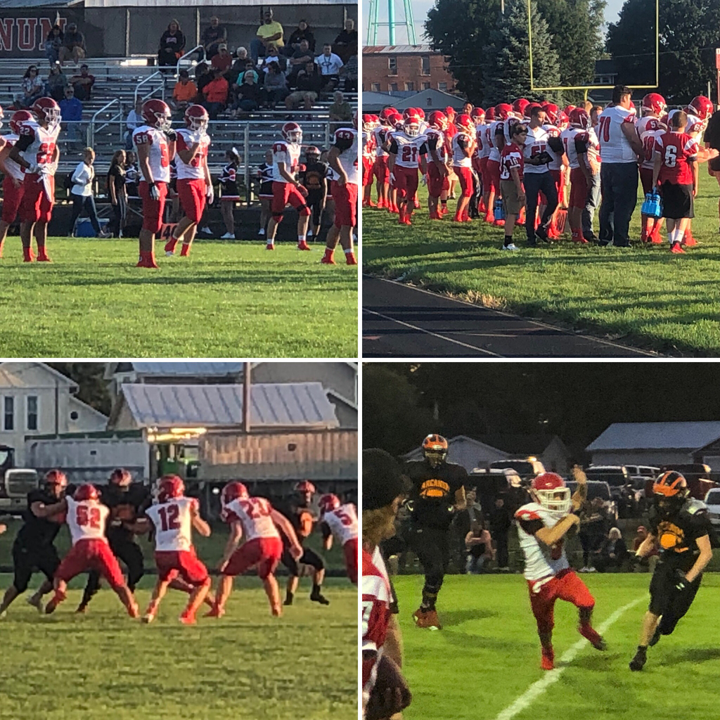 Bulldog football at Arcanum- 8.23.19