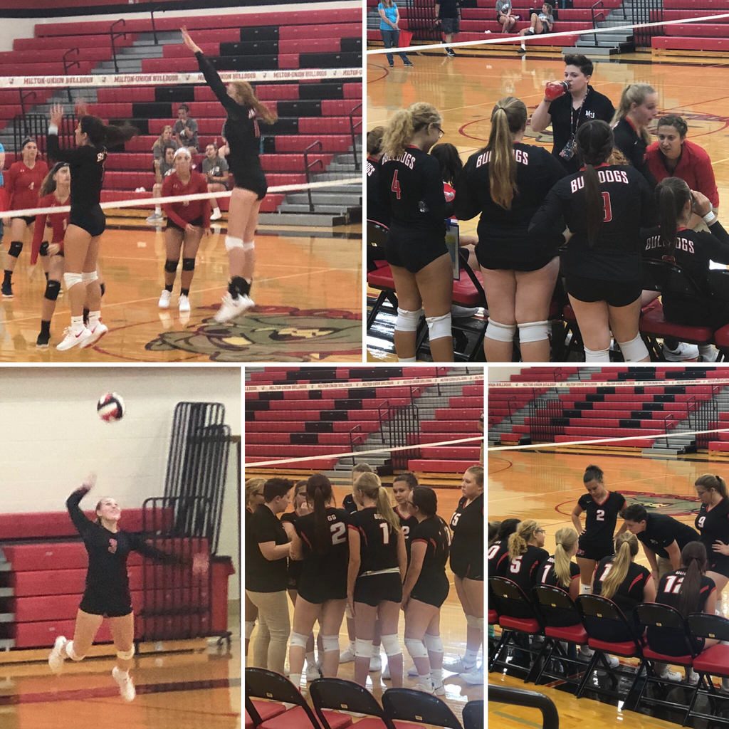 Bulldog Volleyball against Carlisle - 8.27.19