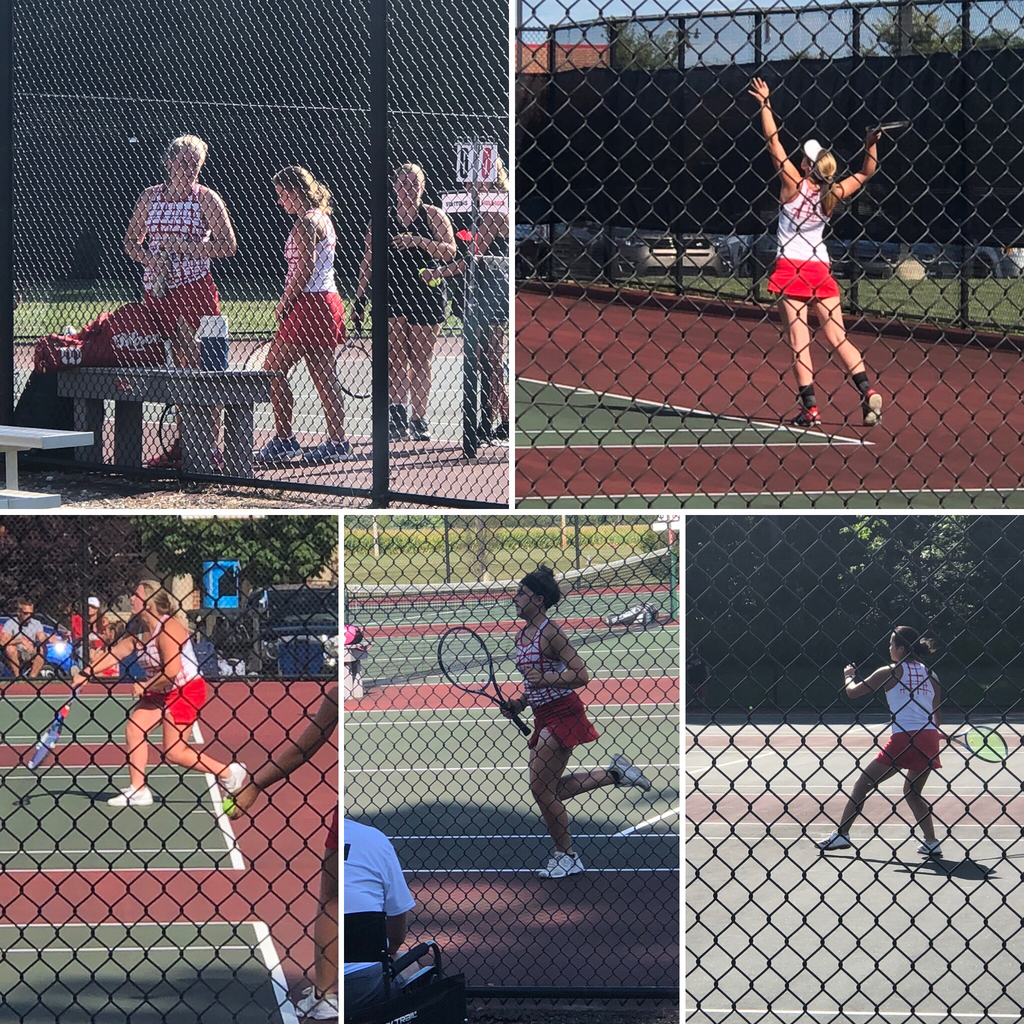 Bulldog Tennis against Sidney - 8.28.19