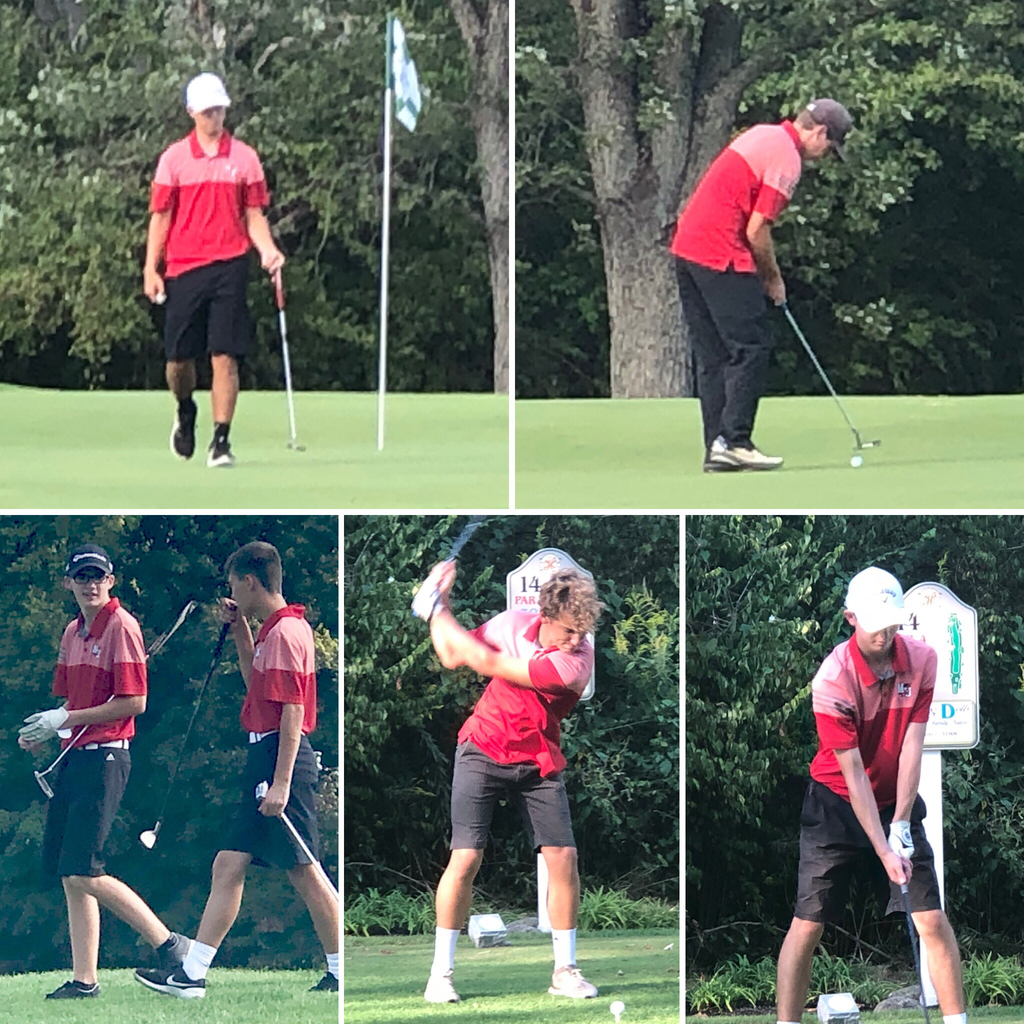 Bulldog golfers versus Lehman on 9.11.19