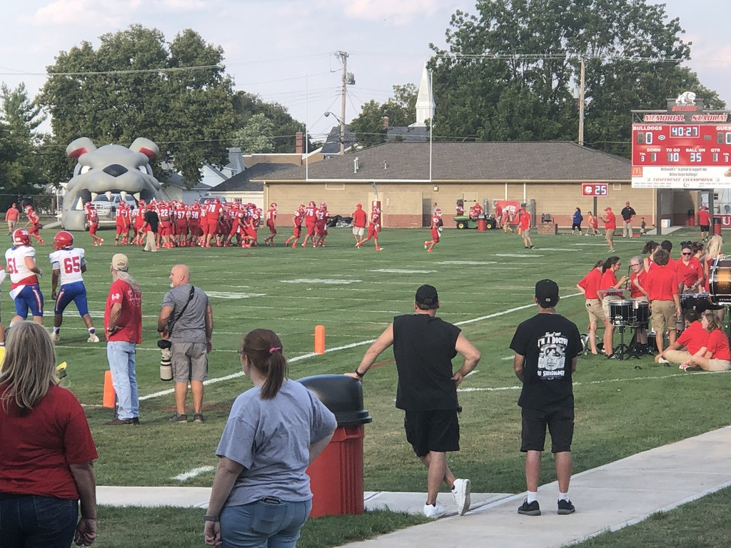 Week three against Northwestern from the concession stand - 9.13.19