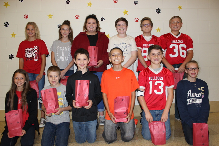 6th Grade September winners