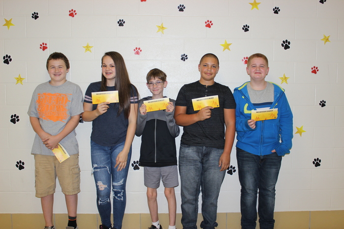 7th Grade nominees