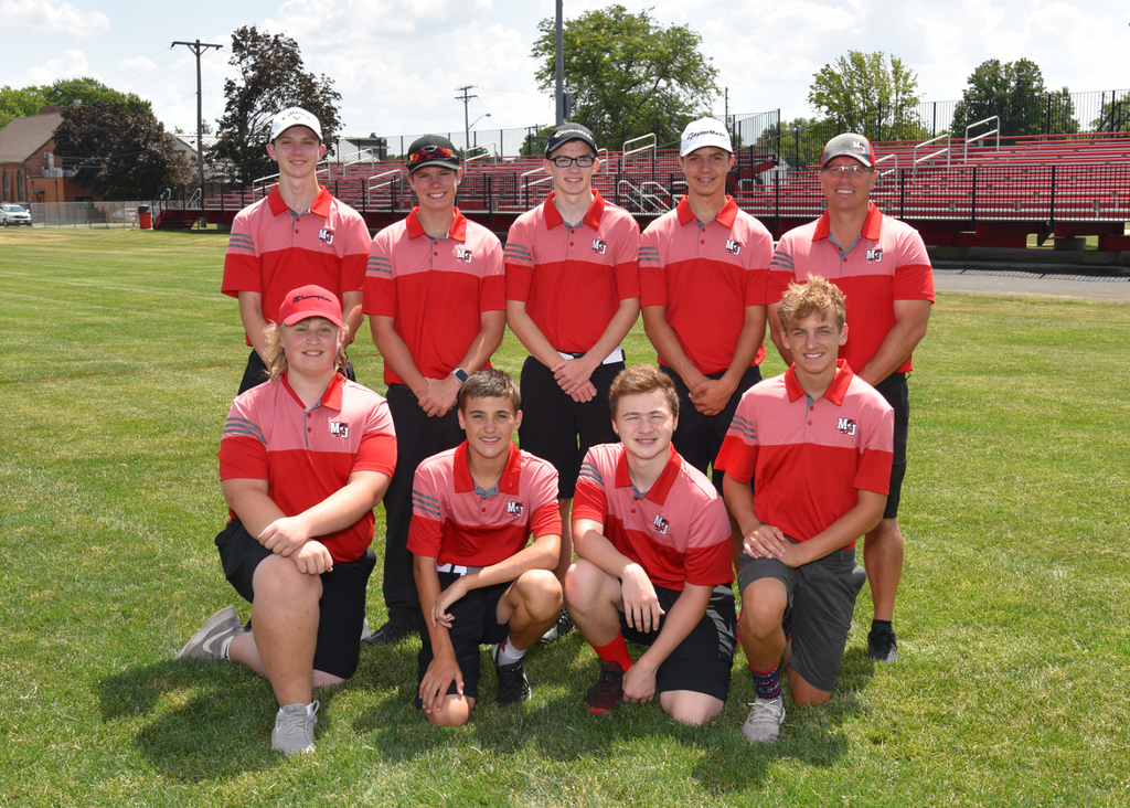 2019 M-U Golf Team Photo