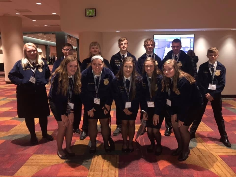 Milton-Union MVCTC Chapter at the National Convention.