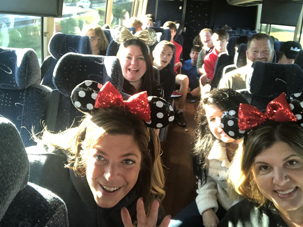 Bus #2 at Disney 12.7.19