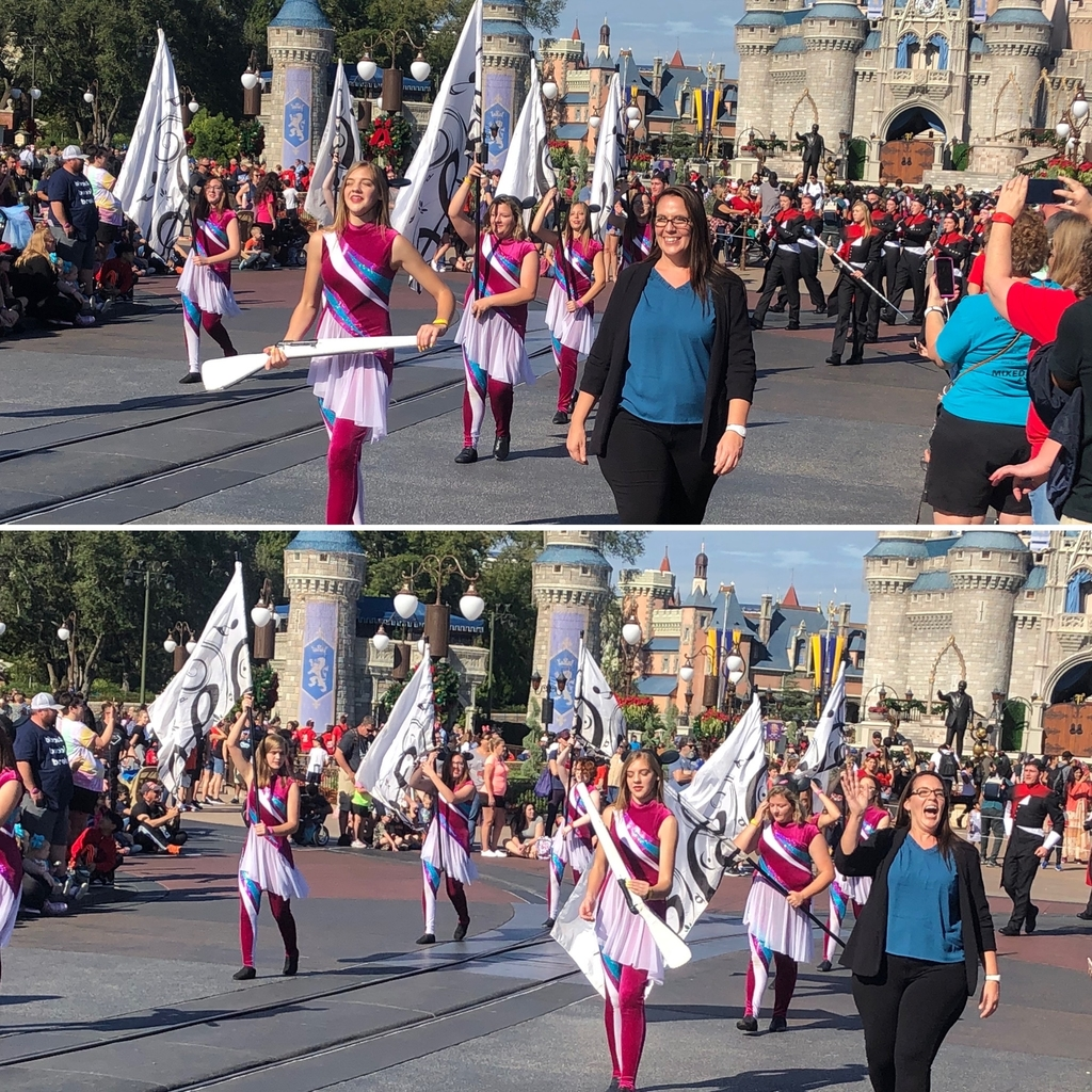 Band at Disney - 12.7.19