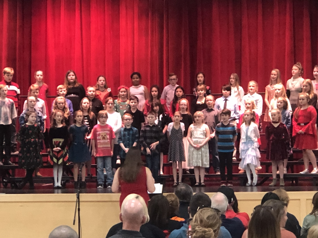 Fourth and fifth grade Winter Choir Concert