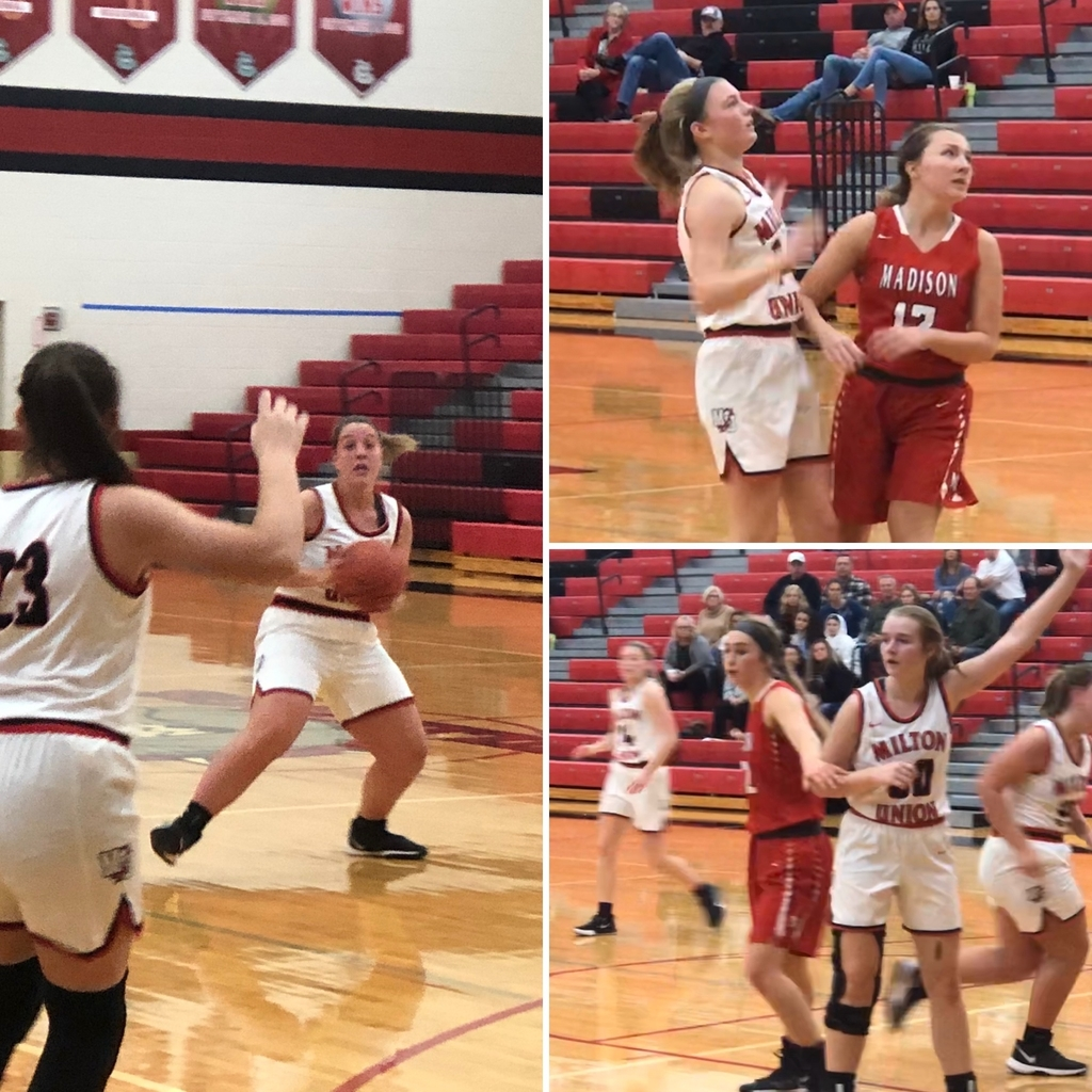 Girls basketball against Madison - 12.14.19